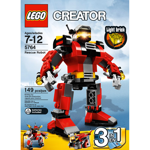 Lego Creator Rescue Robot by LEGO Systems, Inc.
