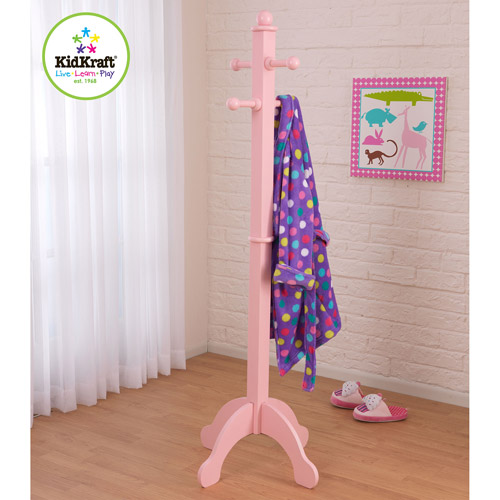 KidKraft Deluxe Clothespole Coat Rack with Pegs, Multiple Colors