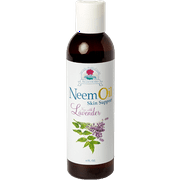 Ayush Herbs, Neem Oil Skin Support with Lavender 6 fl oz