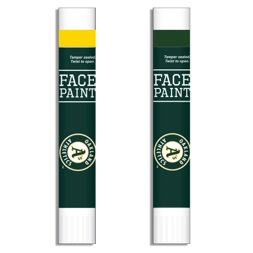 Oakland Athletics Face Paint Two-Pack - No Size