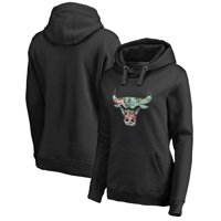 287f84ea5 Product Image Chicago Bulls Fanatics Branded Women's Lovely Pullover Hoodie  - Black