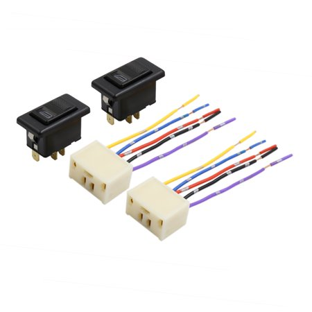 5 Pin Car Power Window Switch with Wiring Harness Pigtail Socket DC Wiring Socket With Switch on plug with switch, bolt with switch, relay with switch, wiring with switch, usb with switch, box with switch, adapter with switch, handle with switch, resistor with switch, extension with switch, capacitor with switch,