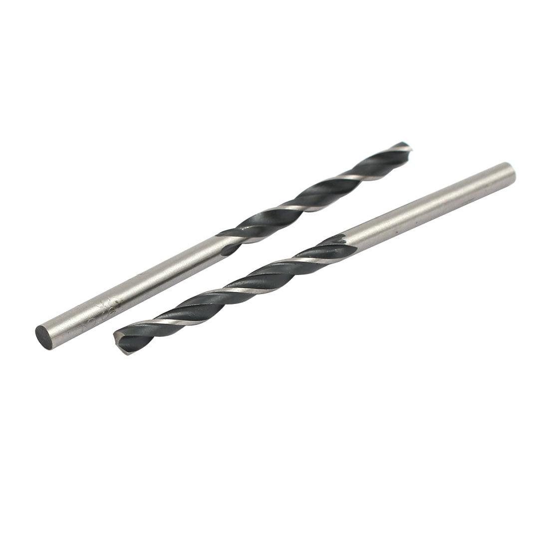 3mm Dia 59mm Length HSS 9341 Round Shank Twist Drill Bit Drilling Tool 10pcs - image 3 of 4