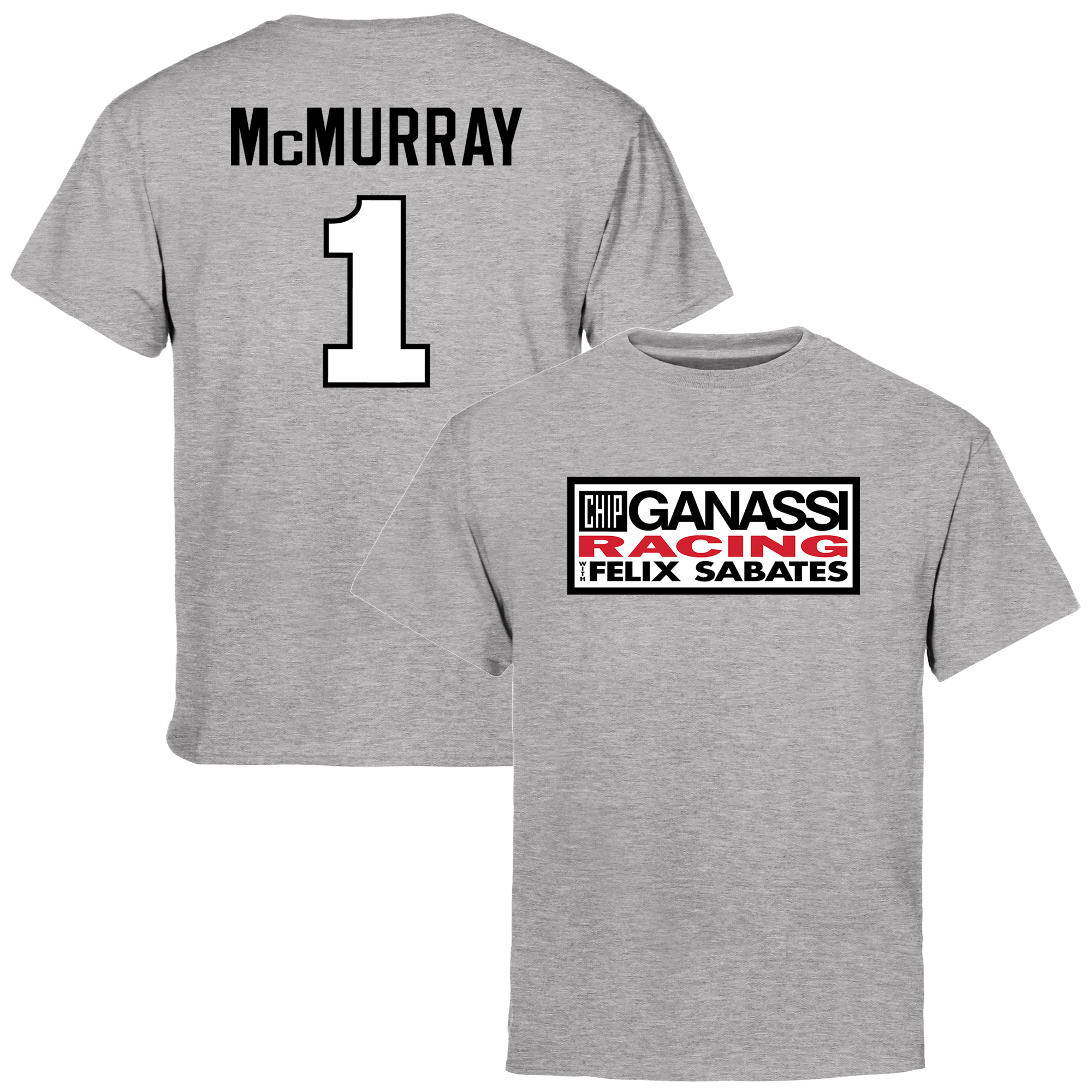 Jamie McMurray Youth Driver Name & Number T-Shirt - Ash