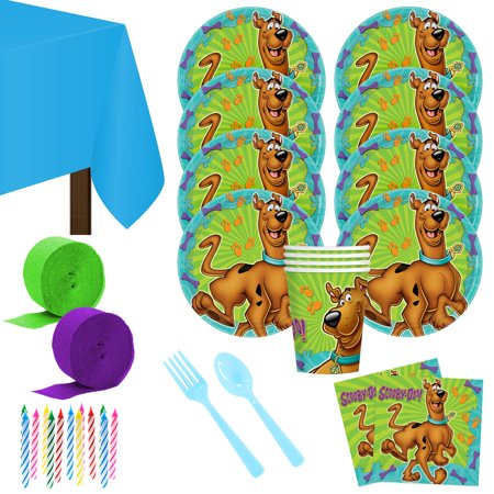 Scooby Doo Deluxe Kit (Serves 8) - Party Supplies](Scooby Doo Halloween Party Games)