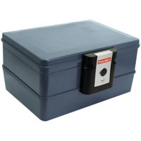 First Alert 0.39 cu. ft. Waterproof and Fire Resistant Chest with Key Lock