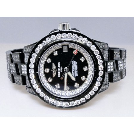 Breitling Breitling Aeromarine Black Pvd Colt Ocean Diamond Watch
