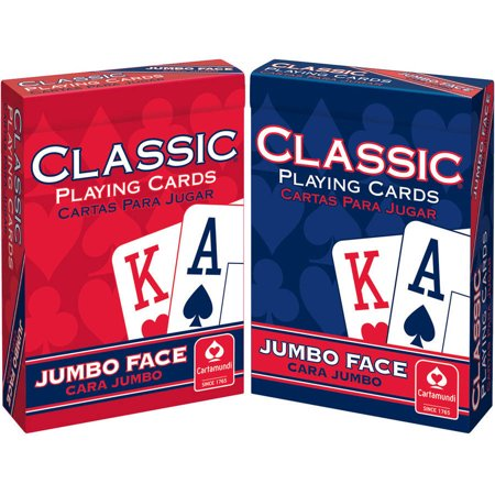 Classic Jumbo Playing Cards