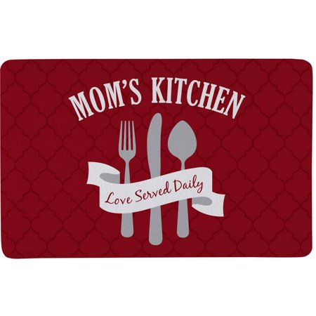 Personalized Love Served Daily Doormat, Available in 3 (Big Green Egg Draft Door)