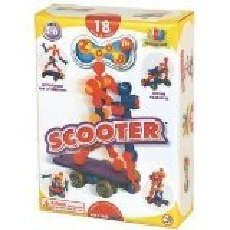 ZOOB Jr. Scooter Modeling System