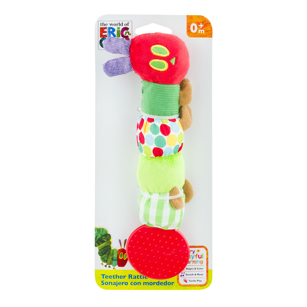 World of Eric Carle, The Very Hungry Caterpillar Teether Rattle
