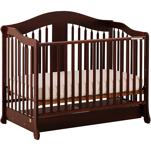 Rochester Stages Crib - Cherry