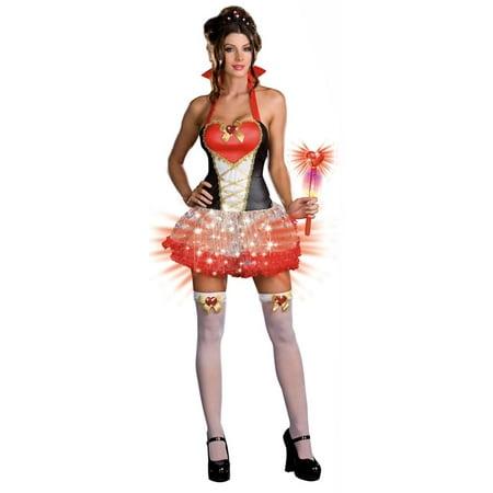 Sexy Queen Of Heart Breakers Costume Adult