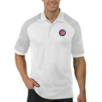 Chicago Cubs Antigua Engage Polo - White/Gray