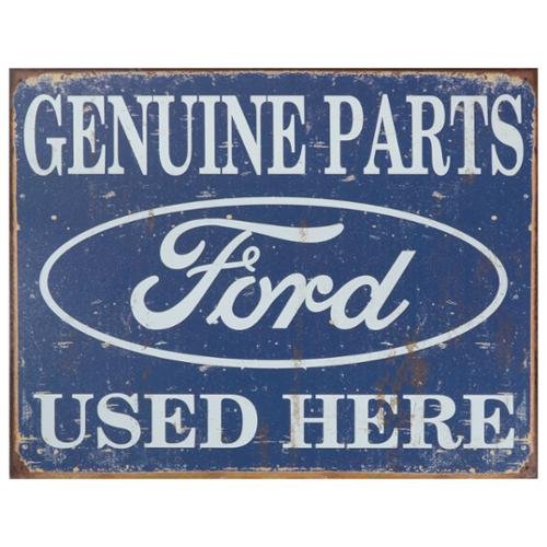 Vintage Metal Art 'Ford' Decorative Tin Sign