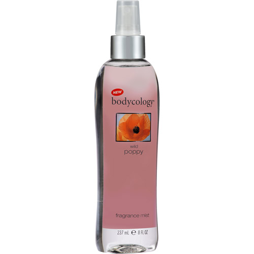 bodycology Wild Poppy Fragrance Mist, 8 fl oz