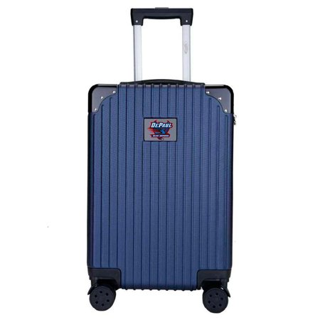 DePaul Blue Demons Premium 21'' Carry-On Hardcase Luggage - Navy