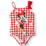 Toddler Girls' Minnie Mouse One Piece Swimsuit