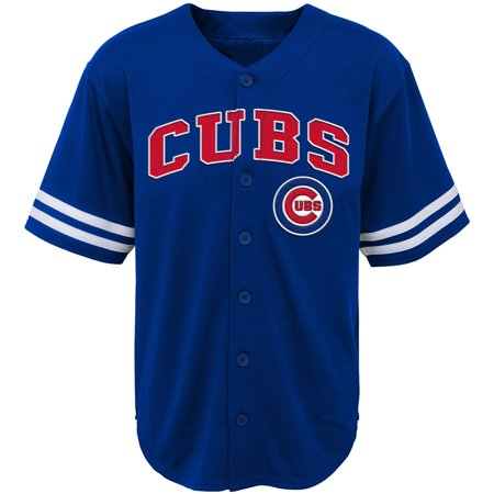 Youth Royal Chicago Cubs Team Jersey