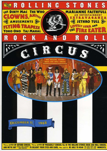 The Rolling Stones Rock and Roll Circus ( (DVD)) by Universal Music & Video Distribution