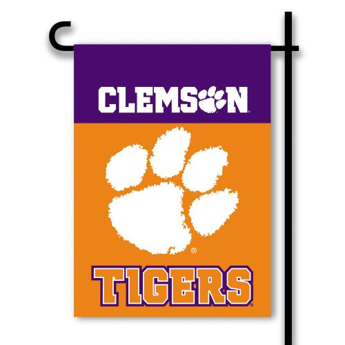 Bsi Products Inc Clemson Tigers 2-Sided Garden Flag Garden Flag