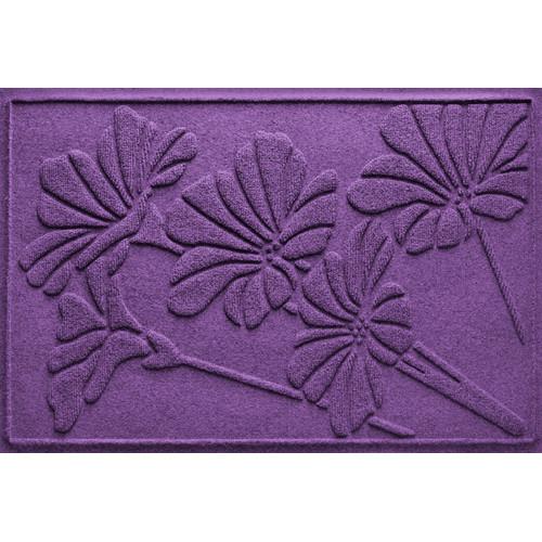 Bungalow Flooring Aqua Shield Spring Flowers Doormat