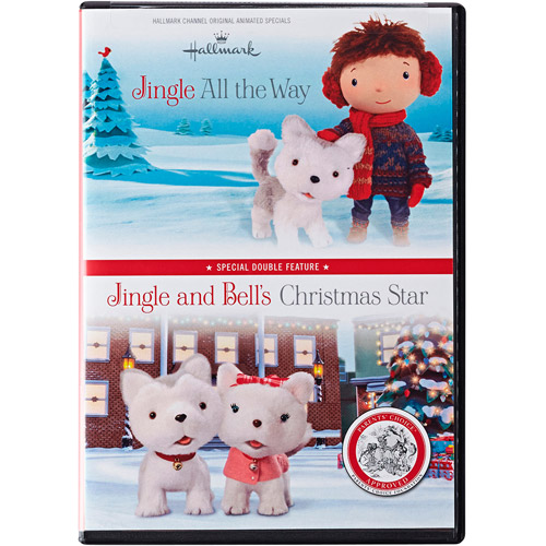 Hallmark 2-DVD Set: Jingle All the Way and Jingle and Bell's Christmas Star