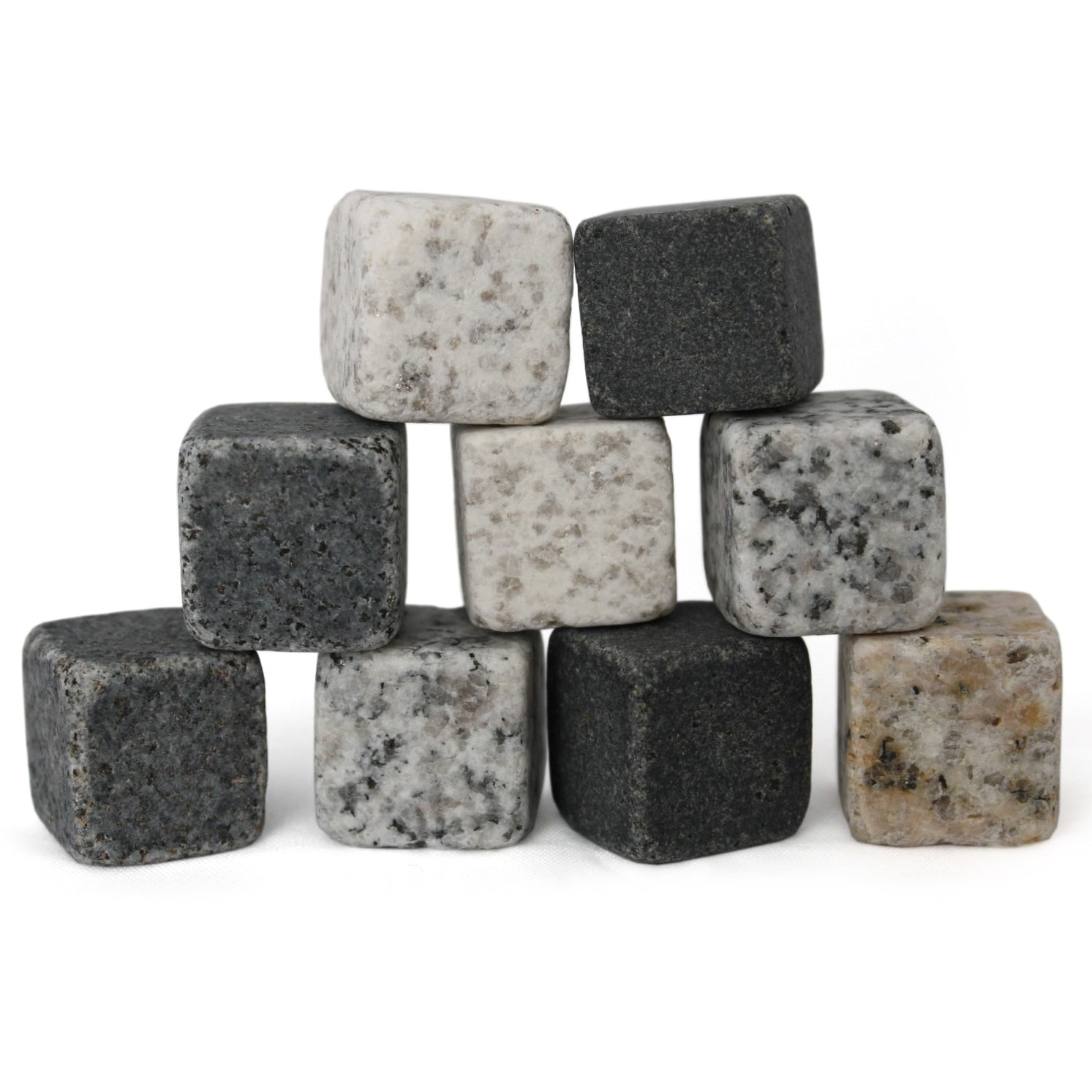odash 9-Piece Whiskey Stone Set
