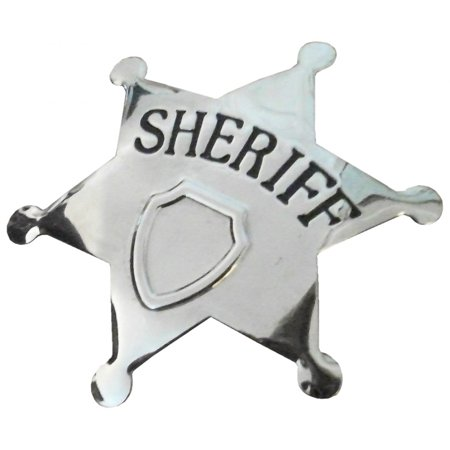 Sheriff Badge Costume Accessory](Woody Sheriff Badge)