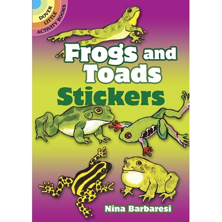 Dover Little Activity Books: Frogs and Toads Stickers (Paperback)](Little Frogs)