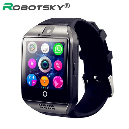 Men Women Bluetooth Support TF card With Camera Smart Watch message reminder for Android (Best Message Ringtones For Android)