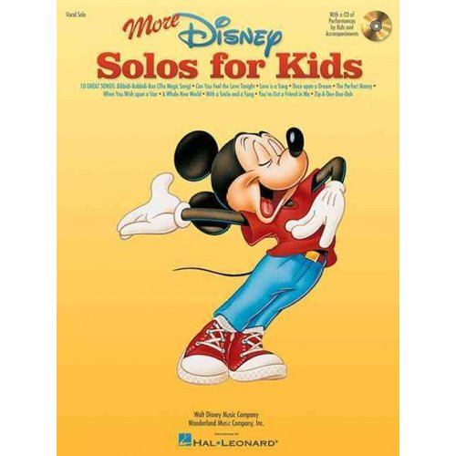 More Disney Solos for Kids