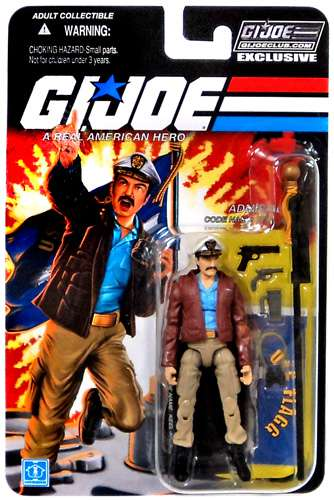 GI Joe 2013 Subscription Exclusive Admiral Keel Haul Action Figure by