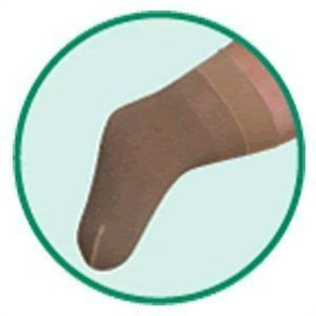 Juzo 3511CFMSB III 15&apos &apos Below Knee Medium Shrinker with Border - Silicone