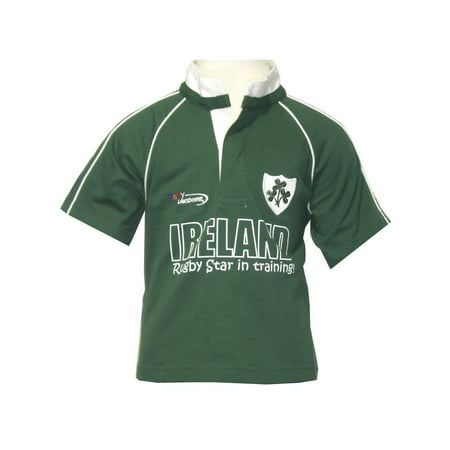 Baby Rugby Tops (Green Ireland Rugby Star in Training Baby Rugby)