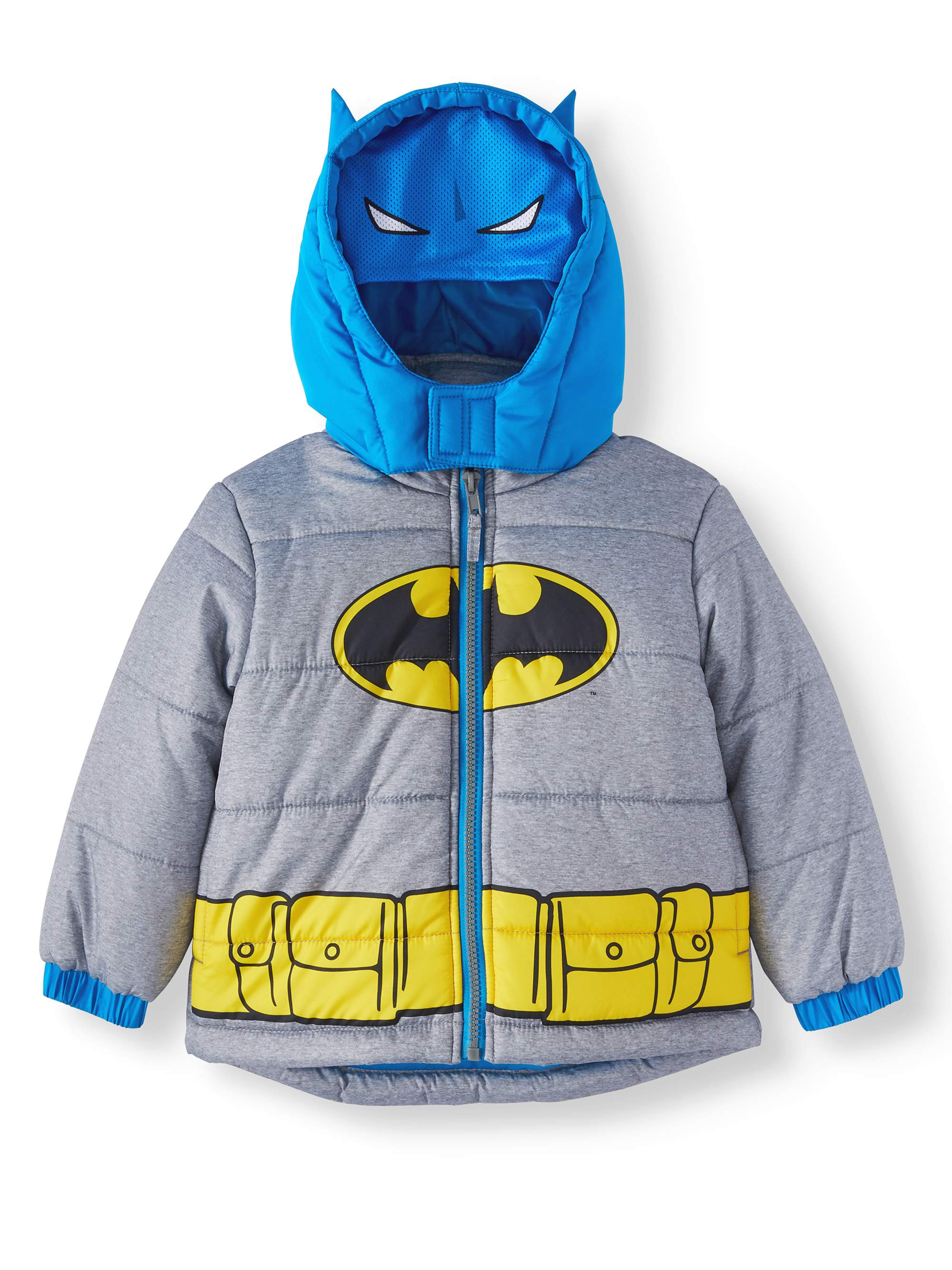Batman Costume Puffer Jacket Coat (Toddler Boys)