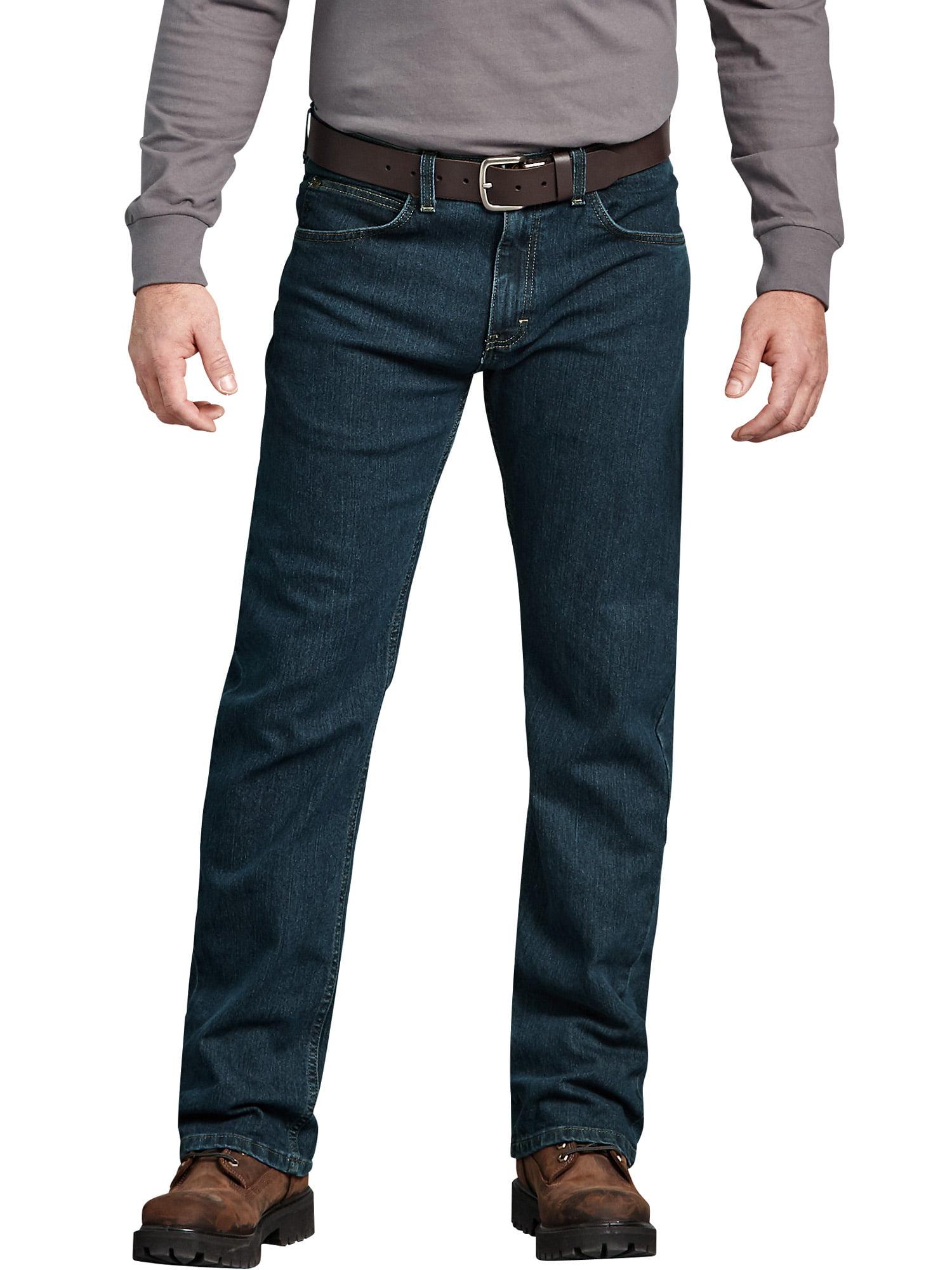392e3ace22b Dickies - Men s Regular Fit Performance Flex 5-Pocket Jean - Walmart.com