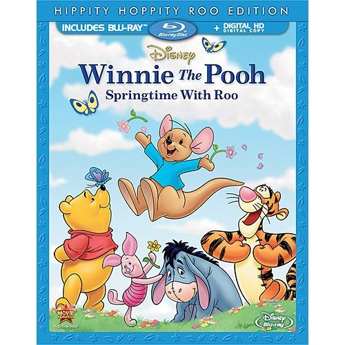 Winnie The Pooh: Springtime With Roo (Hippity Hoppity Roo Edition) (Blu-ray + Digital HD) (Widescreen)