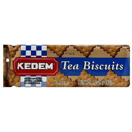 Kedem Tea Biscuits, 4.2 oz, (Pack of 24)
