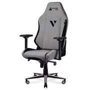 Gtracing Gaming Chair Big and Tall Fabric Office Computer Chair with 4D Armrests, Beige