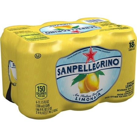 Sanpellegrino Limonata Sparkling Lemon Beverage  11 15 Oz  6Pk