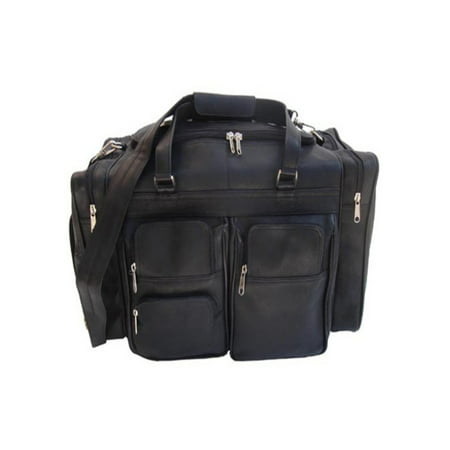 Piel Leather 20 inch Duffel Bag with Pockets