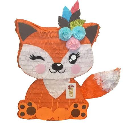 APINATA4U Girly Winking Fox Pinata](Easter Egg Pinata)