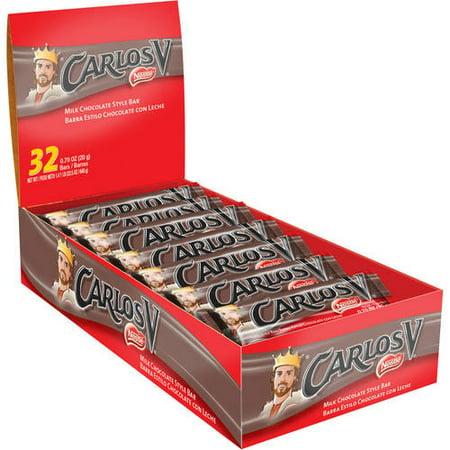 Carlos V Milk Chocolate Bar