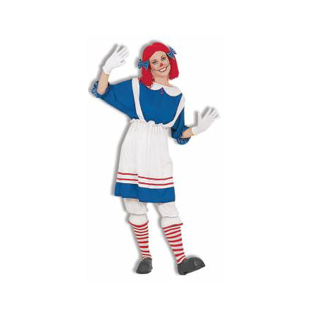 COSTUME-ADULT RAG DOLL GIRL (Rag Dolls Halloween Night)