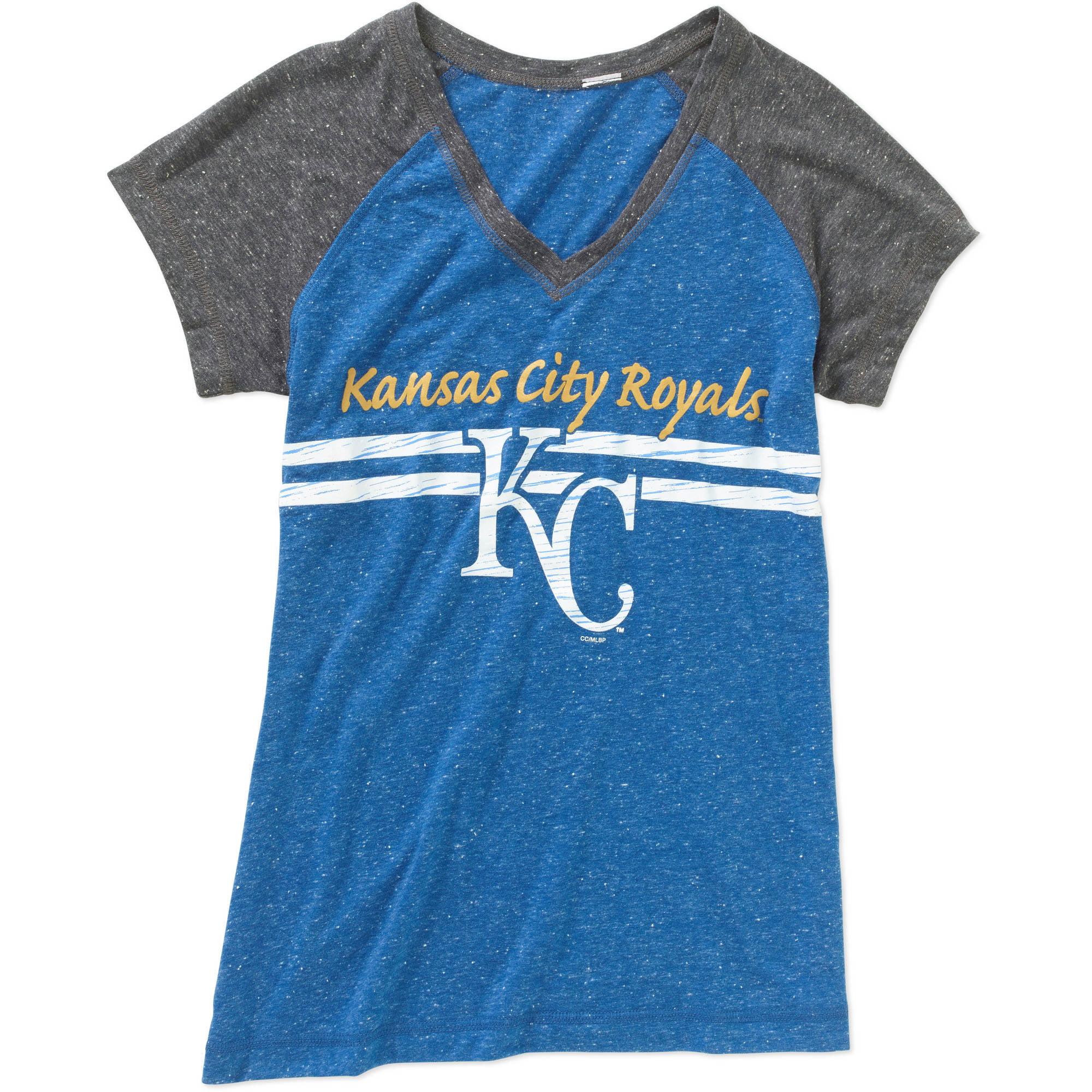 MLB Womens Kansas City Royals Short Sleeve Top