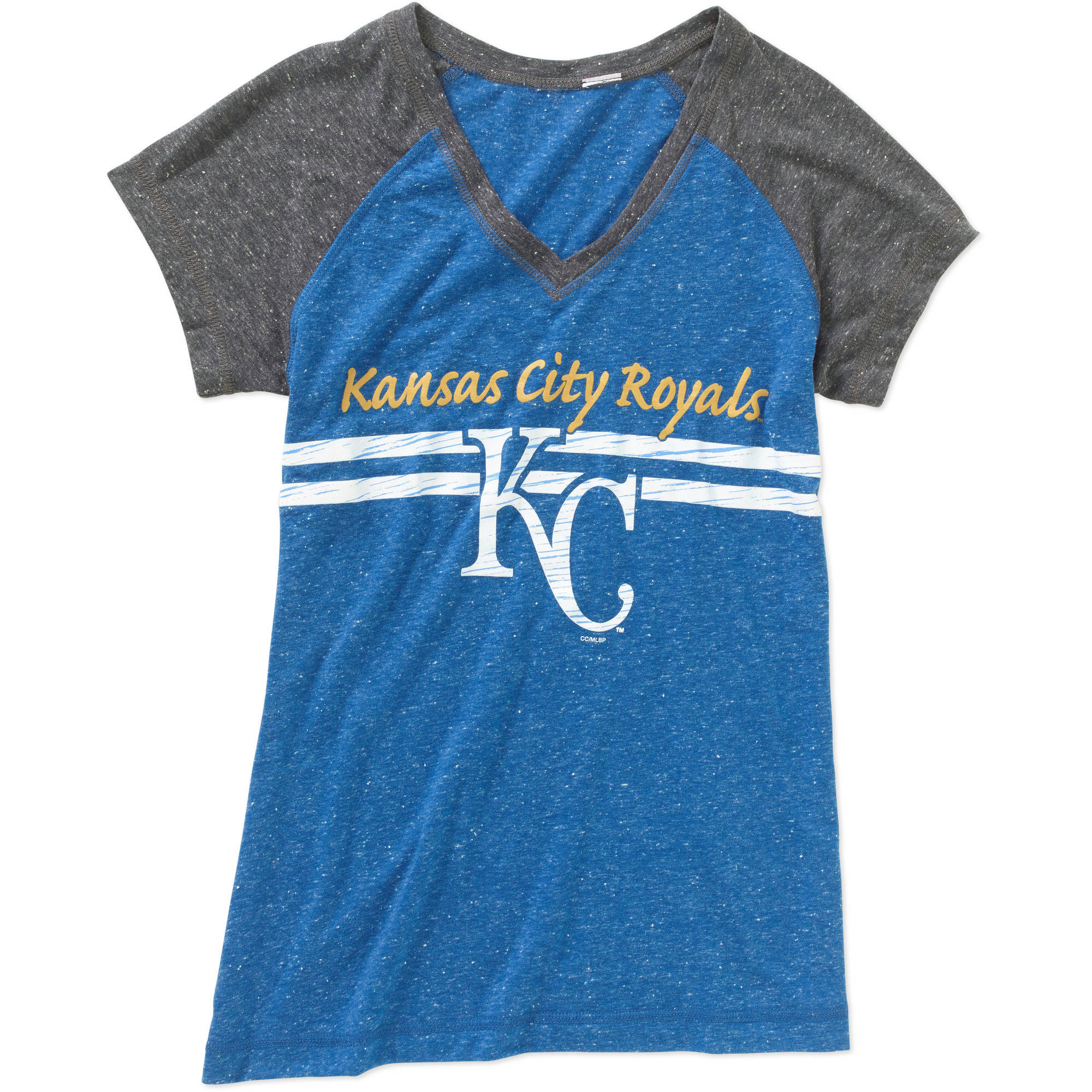 MLB Womens Kansas City Royals Short Sleeve Top