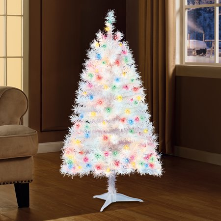 Holiday Time 4ft Pre-Lit Indiana Spruce Artificial ...