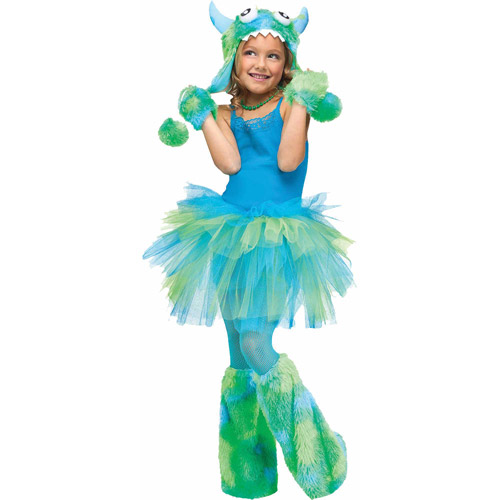 Glitter Tutu Child Halloween Accessory