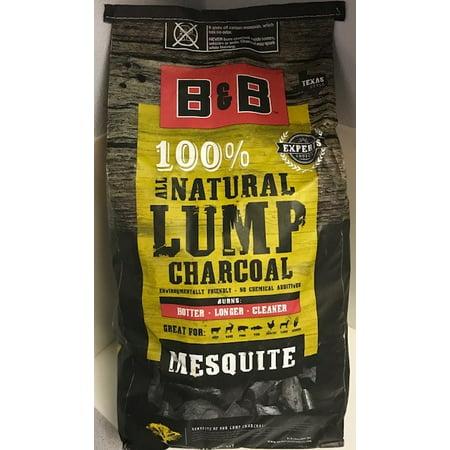B Amp B 20lb Hickory Lump Charcoal Walmart Inventory Checker